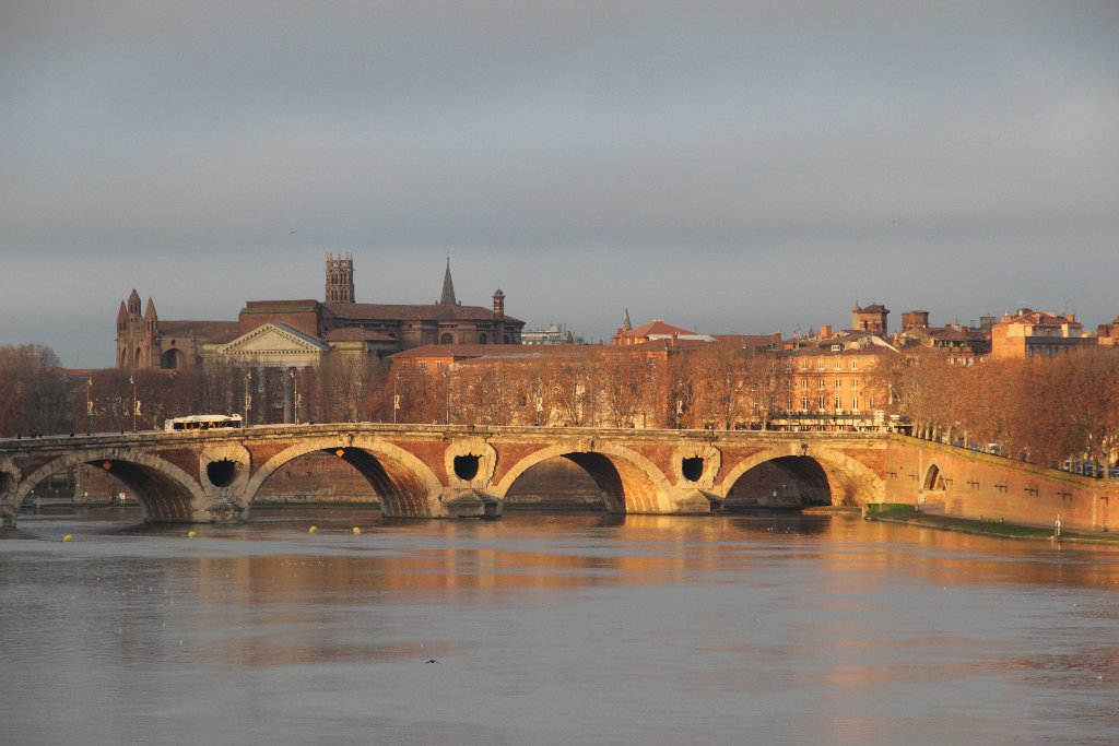 Les bords de Garonne